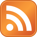 A typical RSS feed icon