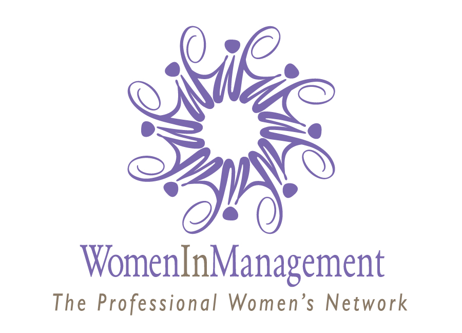 Women in Management Logo With Tagline