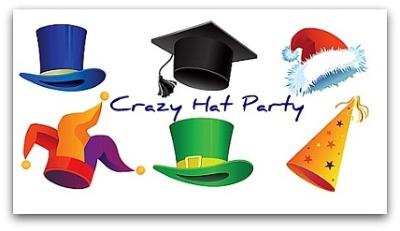 bfont color redMad Hatter Pub Crawlfont FREEb pimg – Hat Party Invitation